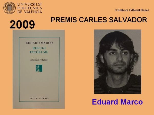 Lliurament IV Premi Carles Salvador