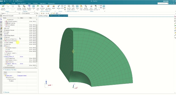Thermo-elastic Analysis in NX (by Nodes ID)