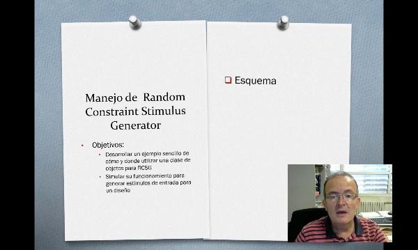 Random Constraint stimulus generator