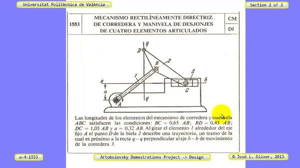 Creación Virtual Mecanismo a_4_1553 con Solidworks - 2 de 3