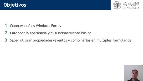 Introducción al desarrollo de aplicaciones visuales con Windows Forms