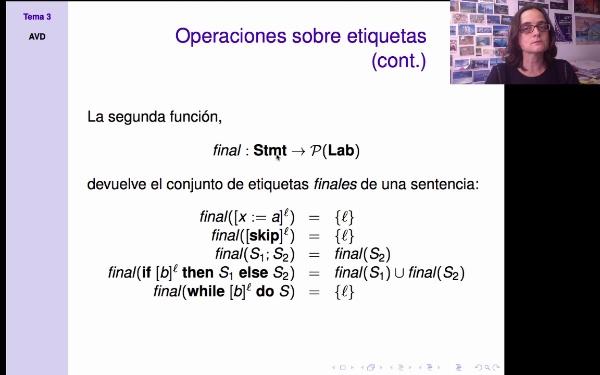 AVD - Análisis estático - funciones init y final