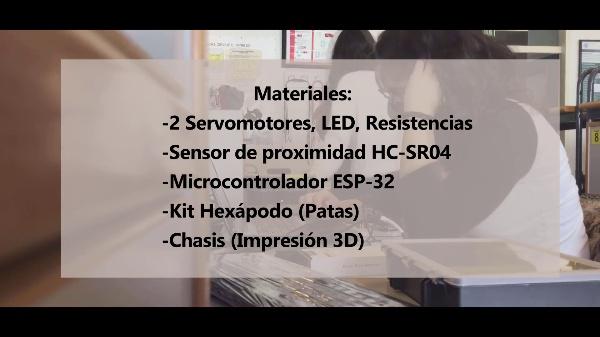 iPET - Robot Hexápodo - Feria Tecnológica CEFIRE Abril 2021