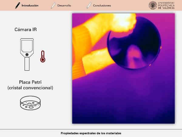 Propiedades espectrales de los materiales