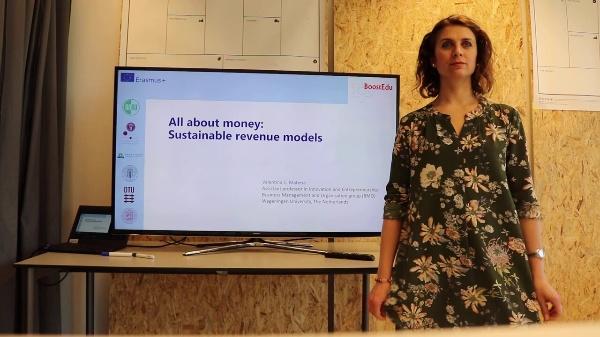 Sustainable revenue models I