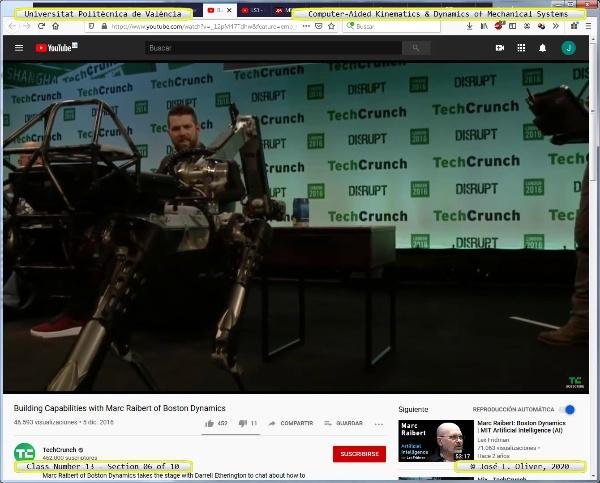 Mecánica y Teoría de Mecanismos ¿ 2020 ¿ MM - Clase 13 ¿ Tramo 06 de 10