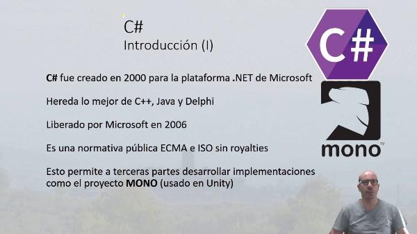 Scripting en Unity3D. C# y tipos básicos