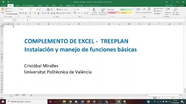 Árboles de decisión con TREEPLAN en Excel