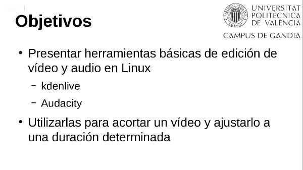 Cómo acortar un vídeo con herramientas de Linux