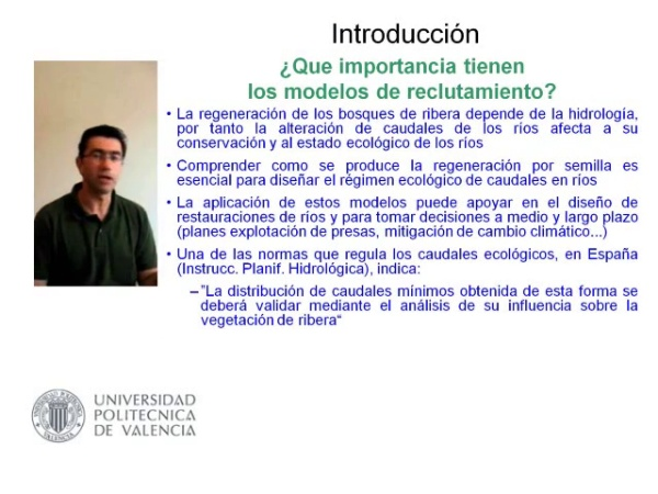 Modelos Conceptuales de Regeneracion del Bosque de Ribera