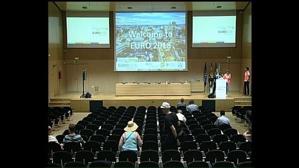 EURO 2018. Keynote Santo Fortunato