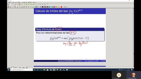 Matematicas 1 GIOI grupo A Clase 14