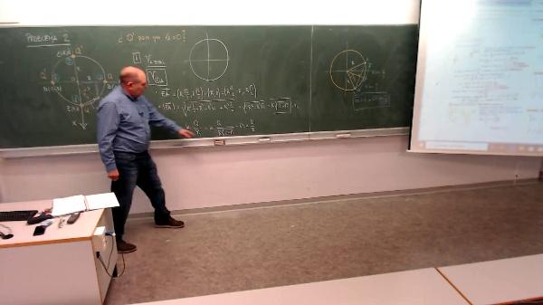 Física 1. Lección 5. Problema 2-2