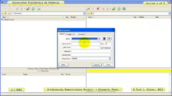 Simulación Mecanismo a_c_0683 con Cosmos Motion - 1 de 9