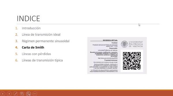 Fundamentos de transmisión. Tema 4.4.6. Carta de Smith. Redes de adaptación. LT lambda/4