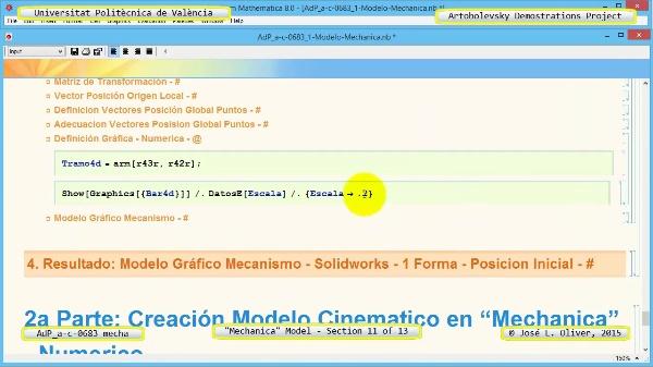 Simulación Mecanismo a-c-0683 con Mechanica - 11 de 13