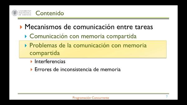 COMUNICACIÓN CON MEMORIA COMPARTIDA