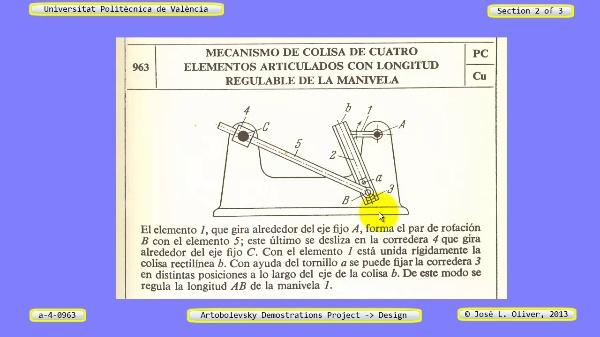 Creación Virtual Mecanismo a_4_0963 con Solidworks - 2 de 3