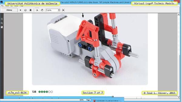 Creación Virtual Modelo Lego Technic - Isogawa ¿ ev3-0134 ¿ 7 de 7