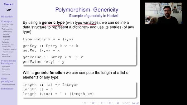 LTP - Unit 1 - Polymorphism (2/3)