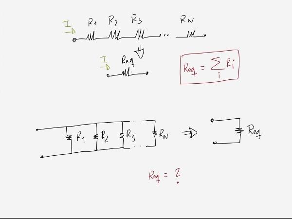 Teoría de Circuitos 1. Lección 3. 2.2.a.2 Resistencia equivalente en paralelo