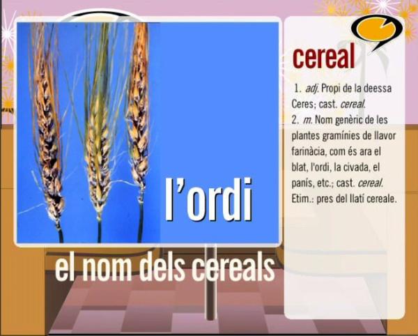 Els cereals