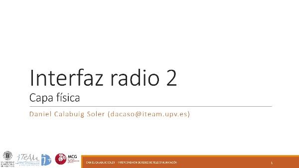 IRT - Redes 3GPP 06 - Interfaz radio 2
