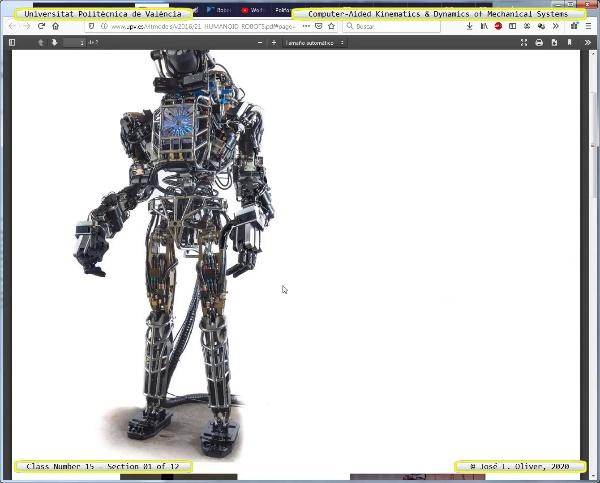Mecánica y Teoría de Mecanismos ¿ 2020 ¿ MM - Clase 15 ¿ Tramo 01 de 12