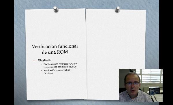 verificación memoria rom aleatoria