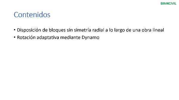 Rotación de objetos con Dynamo (Civil 3D)