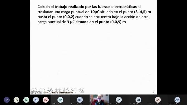 Tema 1: Electrostática (ejercicios de potencial)