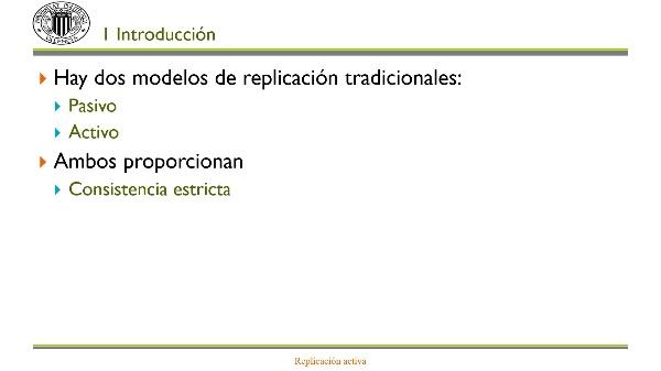 Replicación activa