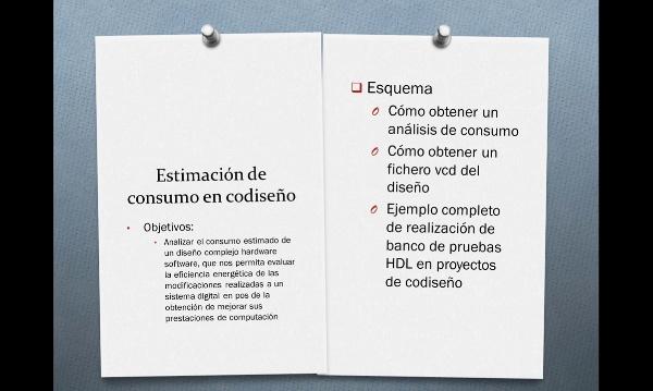 Análisis de consumo en proyectos de codiseño