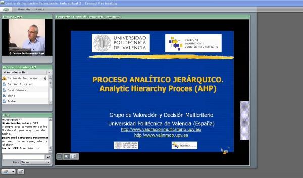 AHP. Proceso analítico jerárquico