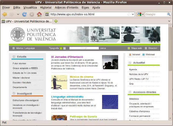 secretaria virtual - identificacion upv