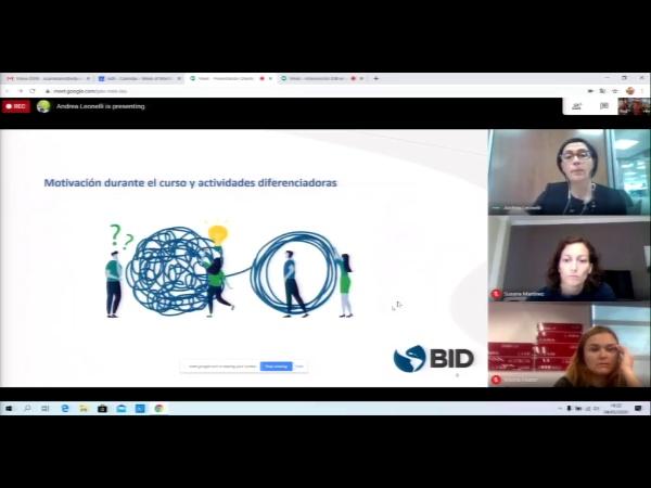 SPOC Gestión de MOOC. Motivación en el diseño instruccional del IDB