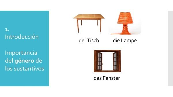 ¿Alemán. Género y número de los sustantivos: Indicaciones en los diccionarios online¿