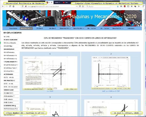 Mecánica y Teoría de Mecanismos ¿ 2020 ¿ MM - Clase 09 ¿ Tramo 13 de 13