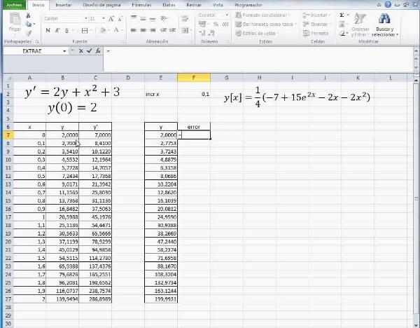 MN-EDO-03-07 Comparación Euler - Mathematica
