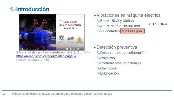 Solución en instrumentación de aceleraciones en estudio de vibraciones