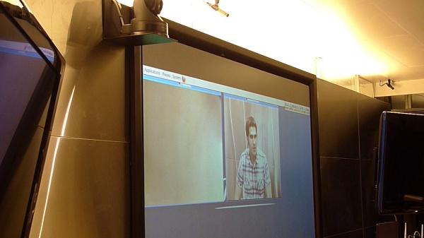 Localización de hablantes para apuntamiento automático de cámara en videoconferencia