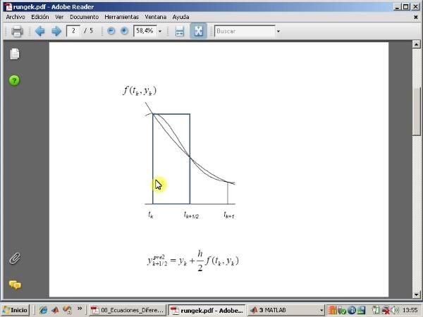 Tema 8. Ecuaciones diferenciales ordinarias. Método de Runge-Kutta.