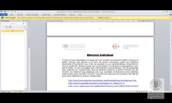 Tareas Módulo Asesor Financiero
