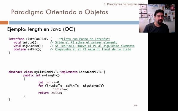 Tema 1. Programación orientada a objetos