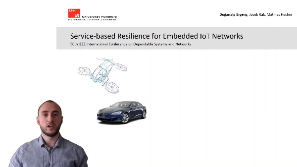 Service-based Resilience for Embedded IoT Networks