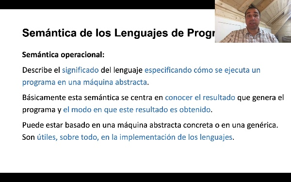 La Semántica de los Lenguajes de Programación