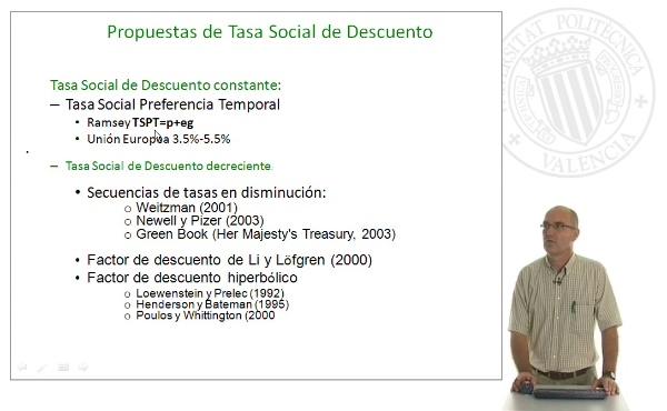 B06.La Tasa de Descuento Social Constante y decreciente