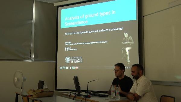 Screendance International Meeting / Encuentro de danza audiovisual. Ponencia Blas Payri & Rafel Arnal