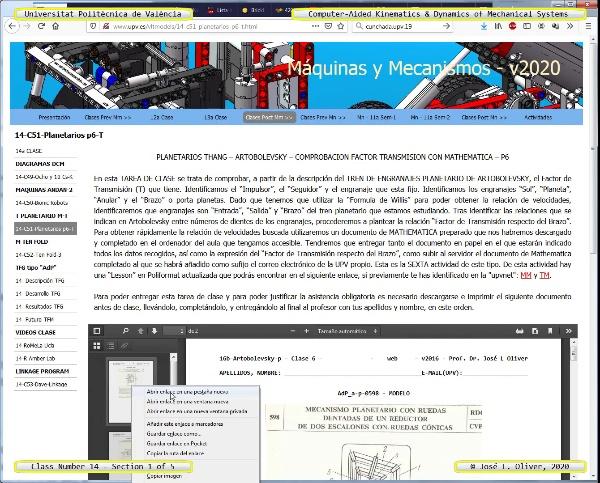 Tecnología de Máquinas - TM - 2020 - Clase 14 ¿ Tramo 1 de 5