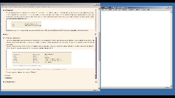 Ecuaciones con Mathematica